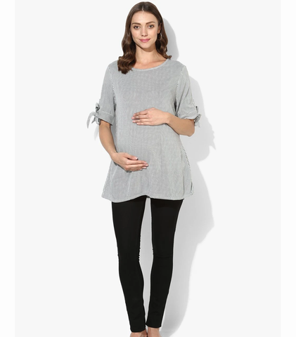 Short Sleeves Maternity Top
