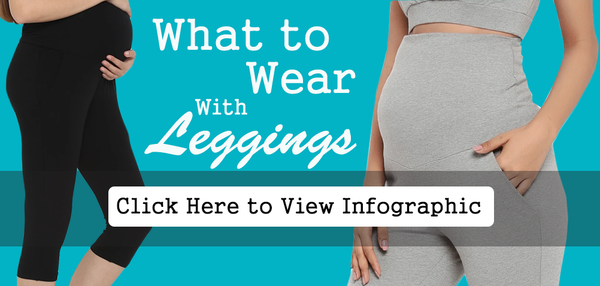 What to Wear with Leggings - Infographic