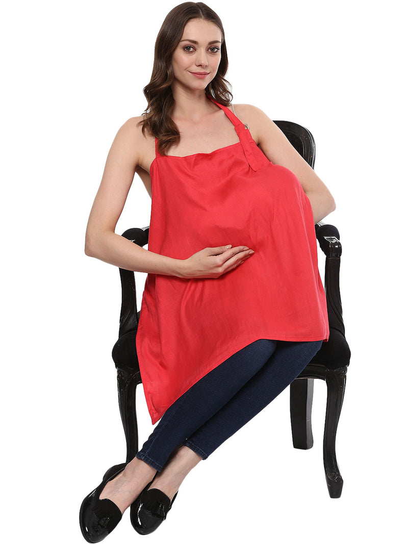 Nursing Cover Solid Gajri