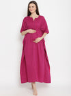 Maternity & Nursing Kaftan Gown