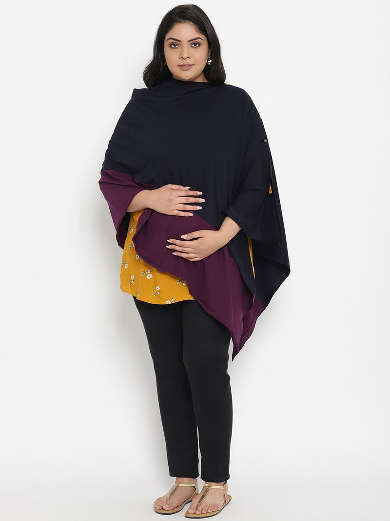 Maternity/Feeding Poncho Cover