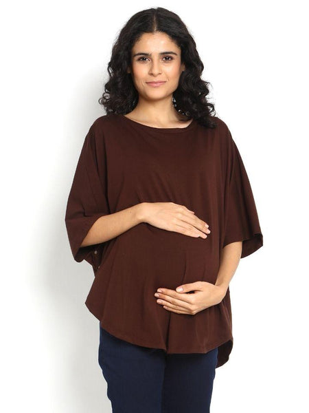 Cotton Jersey Knit Pregnancy Nursing Cover
