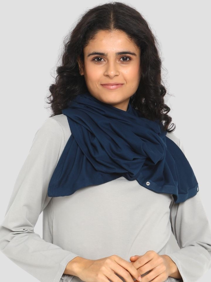 Buttoned Infinity Maternity/Feeding Scarf