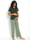 Cropped Maternity Comfy Pants