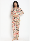 2-pc. Wardrobe Print Maternity PJ Set