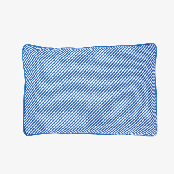 Baby Mustard Seeds Head Pillow Stripped - Blue