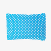 Mustard Seeds Head Pillow Polka Dots - Sky Blue