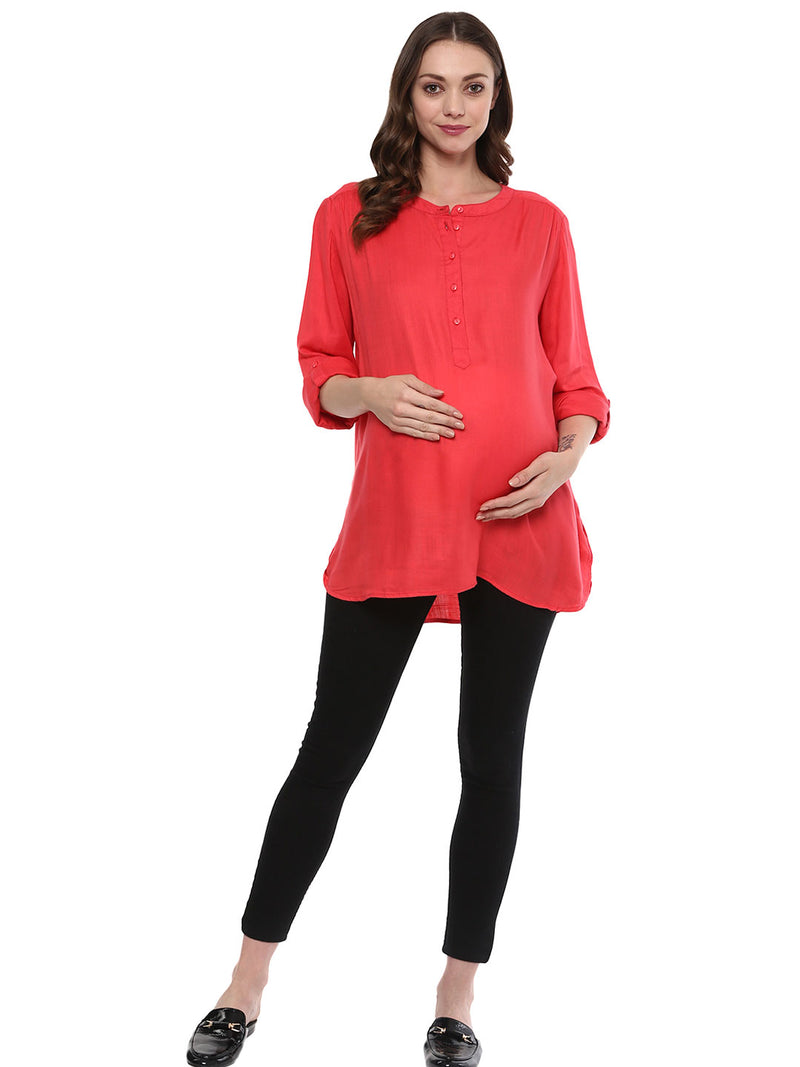Maternity Top Solid Gajri