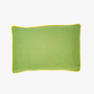 Mustard Seeds Head Pillow - Green