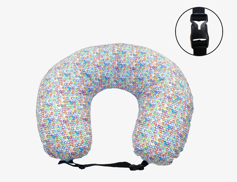 Nursing Pillow and Positioner- Water-resistant + Adjustable