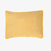 Mustard Seeds Head Pillow Stripped - Yellow