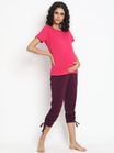 Stretchy Ruched Pregnancy Leggings