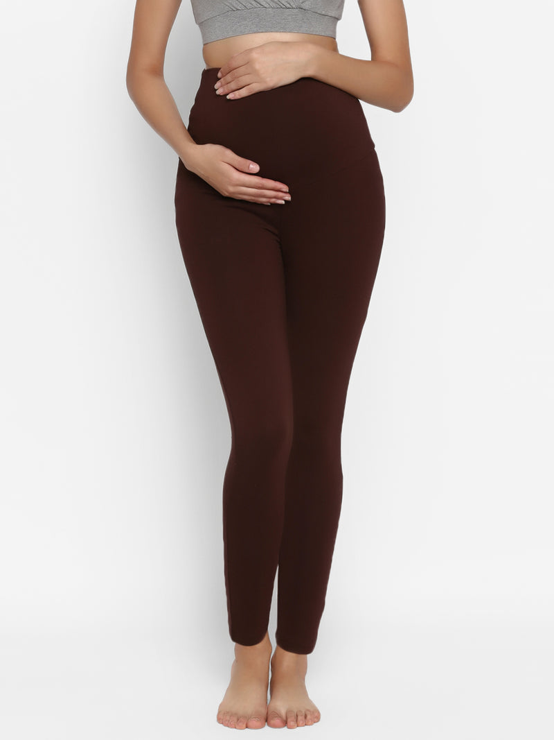 Maternity Over Belly Leggings
