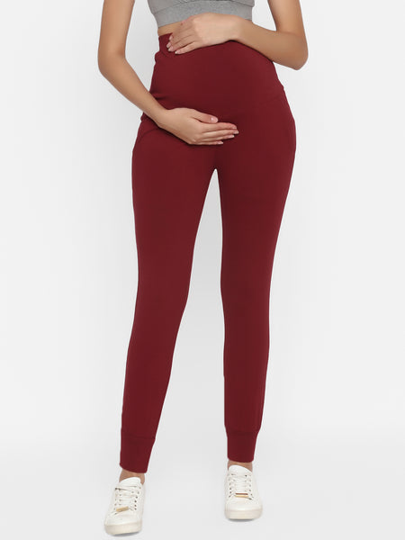 Maternity Jogger Pants- Winter Weight French Terry