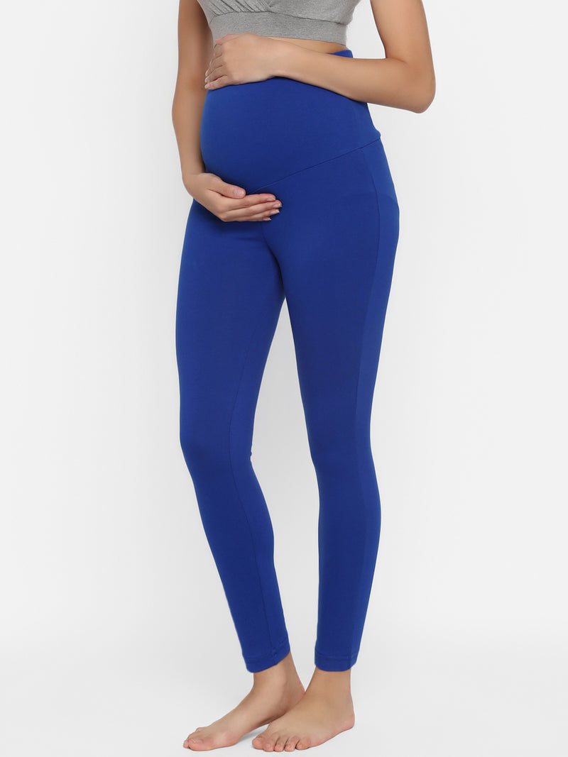 Elastic-free Long Maternity Leggings