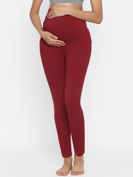 High Waisted Maternity Activewear Leggings