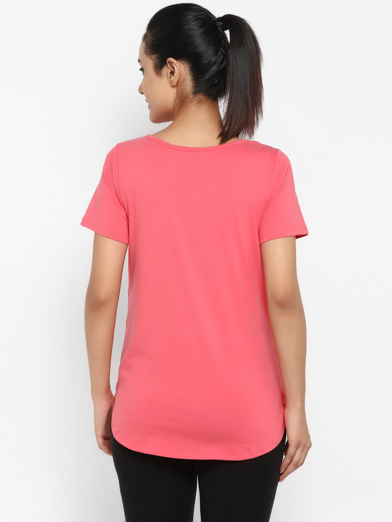 Maternity Half Sleeves T-Shirt