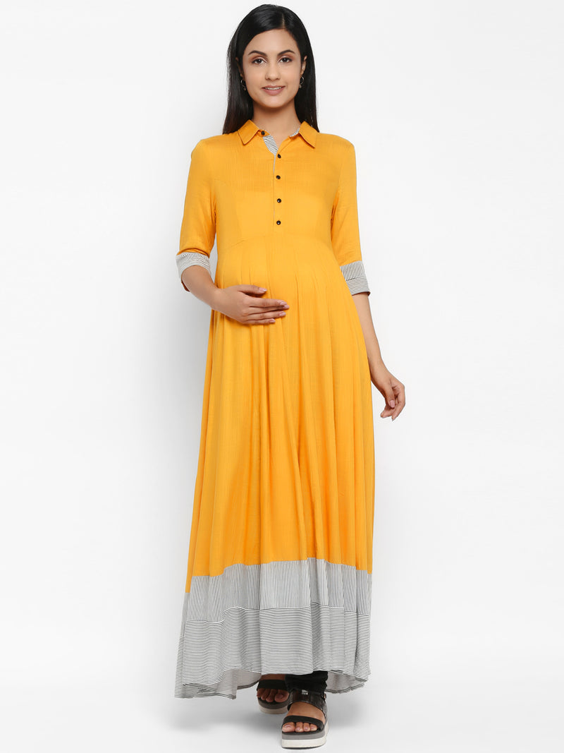 Maternity Collar Kurta