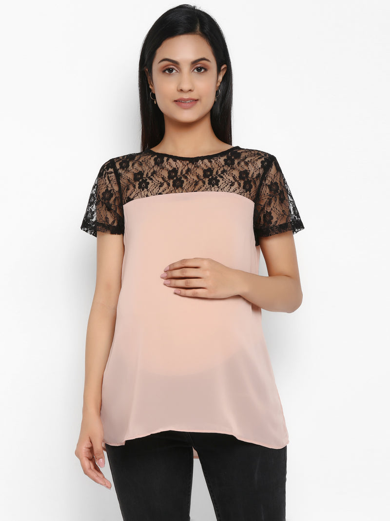 Maternity Crewneck Top