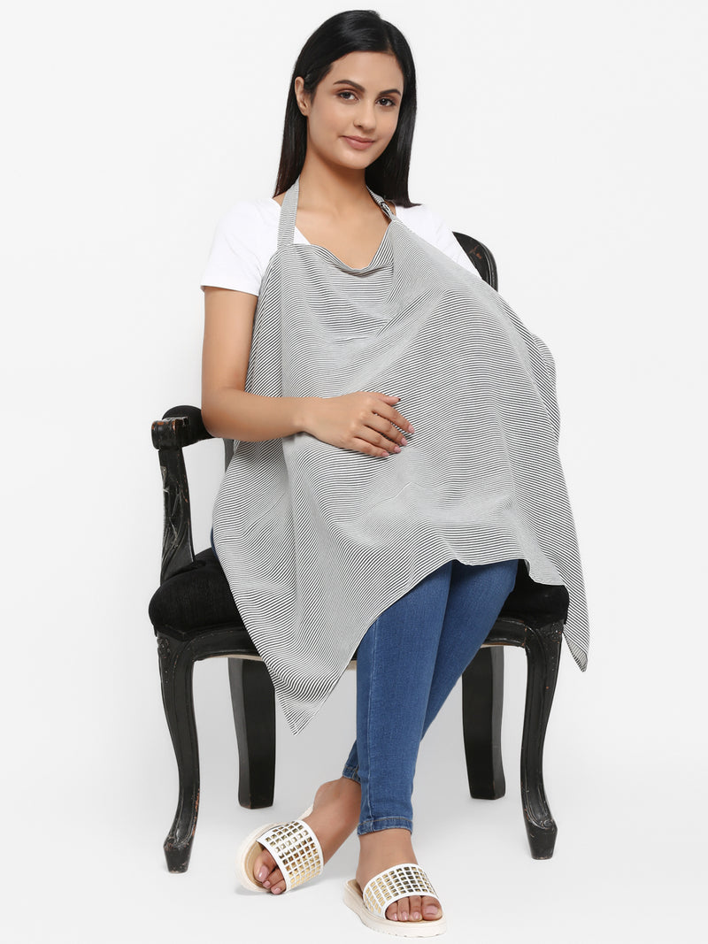 Stripped Nursing Cover