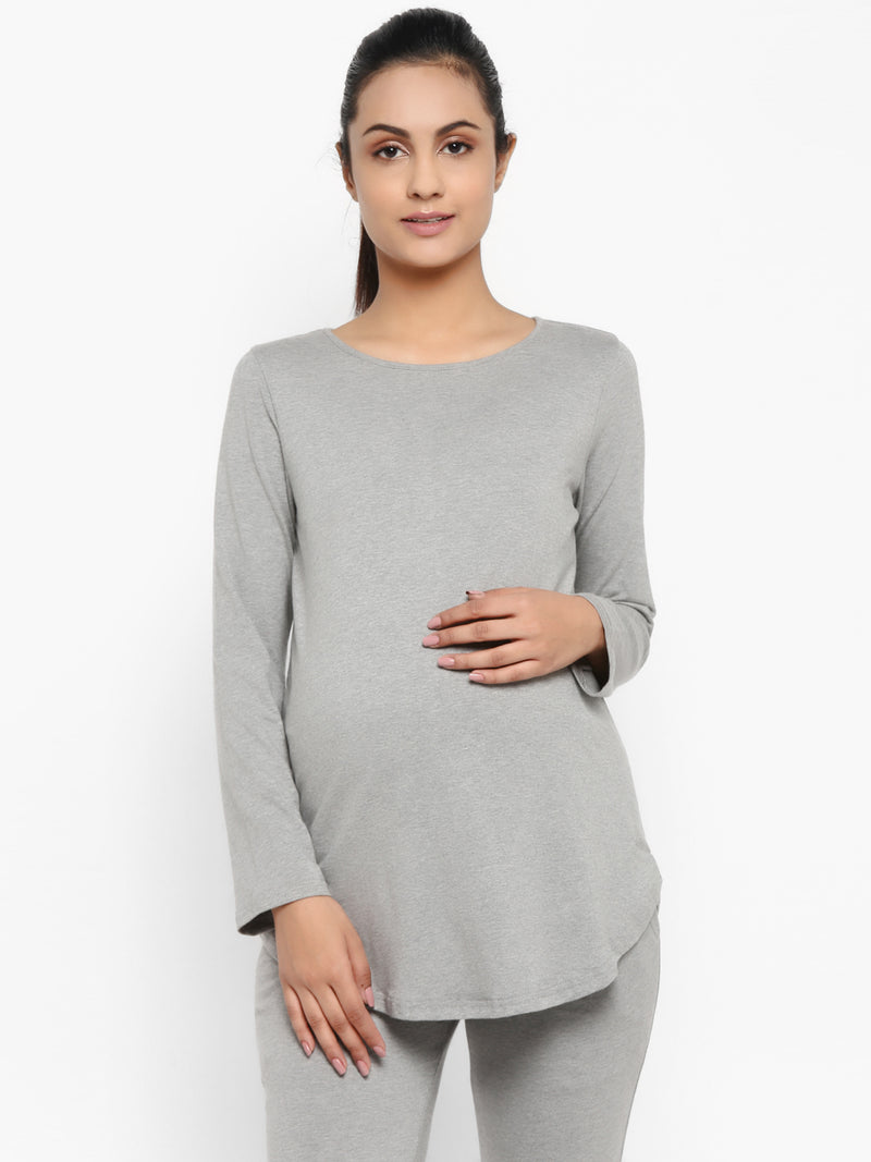 Maternity Full Sleeves T-Shirt