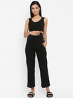 High Waist Wide-leg Maternity Pants