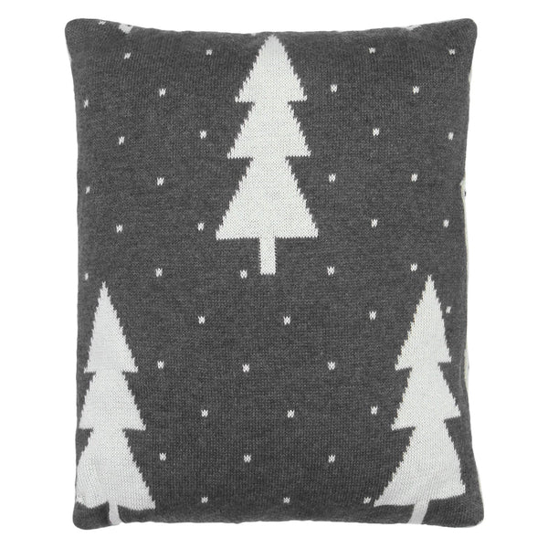 Baby Blanket with Pillow and Toy Snowfall Christmas Tree