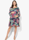 Maternity Dress Multi Floral Georgette