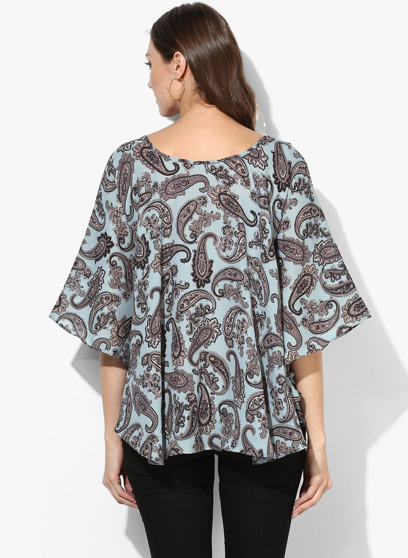 Maternity Poncho with Sleeves
