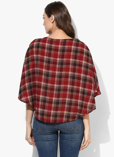 Poncho for Maternity & Nursing Side Button Closure