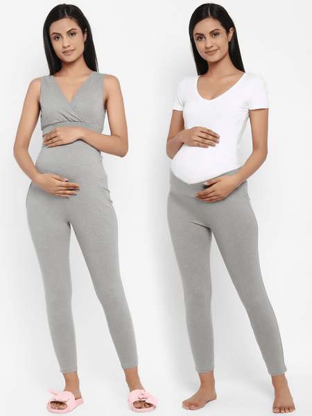 Pack of 2 Maternity Leggings