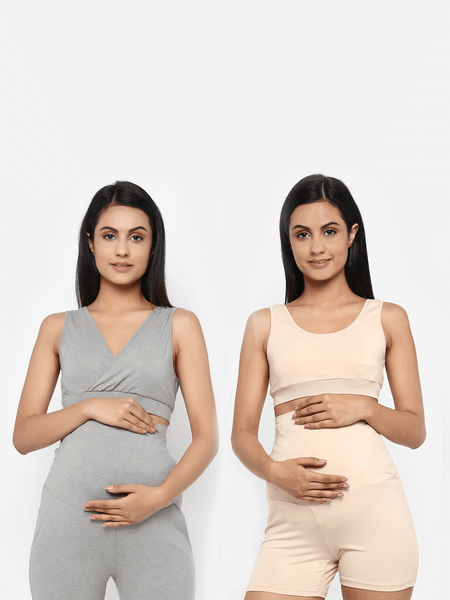 Pack of 2 Maternity & Nursing Bra