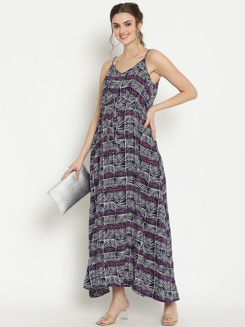 Maternity or Nursing Maxi Dress With Pockets