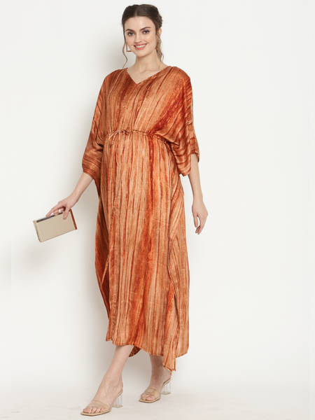 Maternity & Feeding Lurex Kaftan