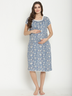 Two-in-one Nursing & Maternity Nightgown