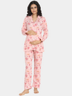 2-pc. Luxurious Maternity PJ Set