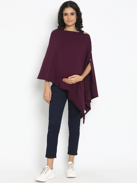Multi-Use Maternity Poncho & Nursing Cover