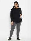 2-Piece Plus Size Maternity Tee & Hi-rise Jogger Set