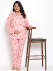 2-pc. Plus Size Luxurious  Maternity PJ Set
