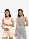 Pack of 2 Maternity Bra