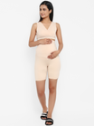 2pc. Maternity/Nursing Bra + High Waisted Shorts Set