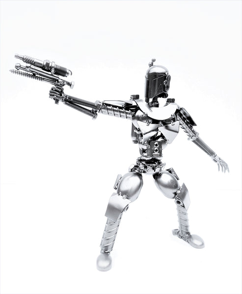 Star Wars - Boba/Jango Fett Arm Out Silver