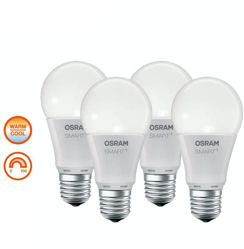 4er Bundle Osram Lightify E27 Classic - warm-/kaltweiß