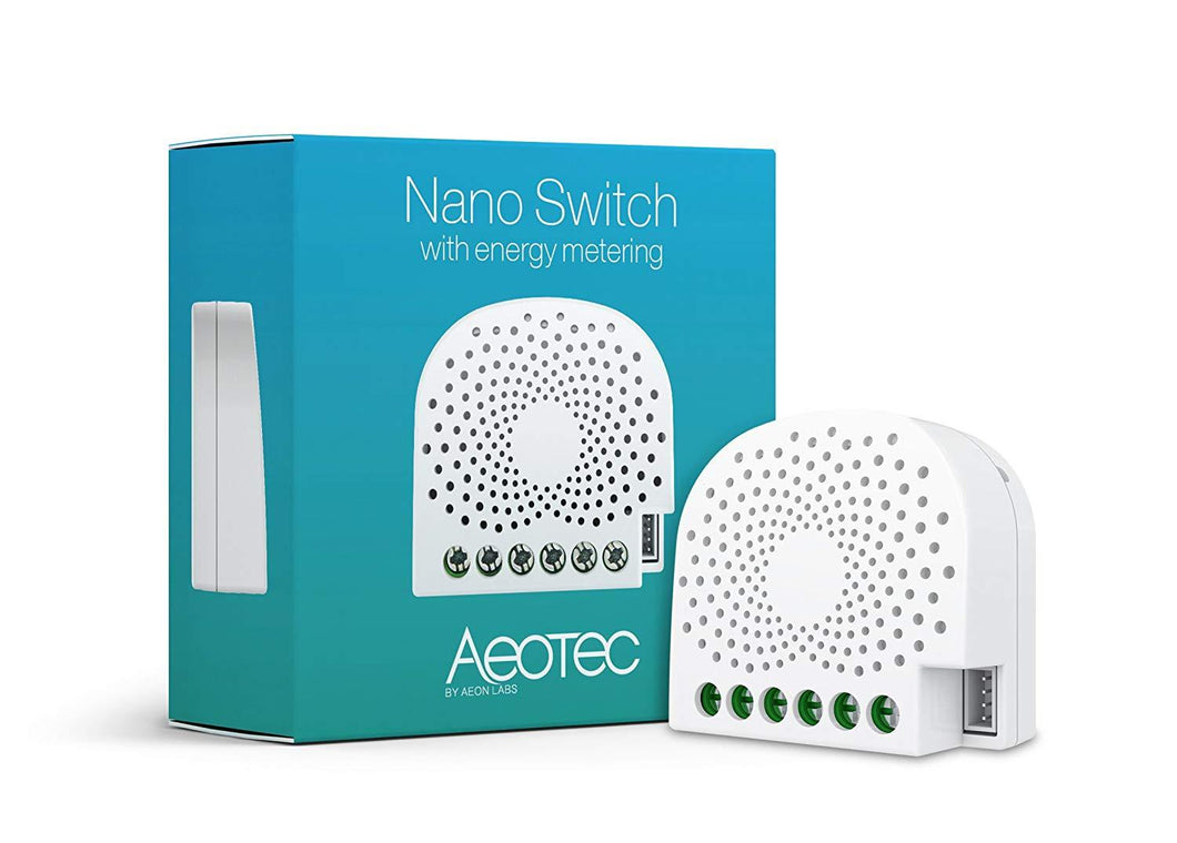 Aeotec Nano Switch (Energiemessfunktion)