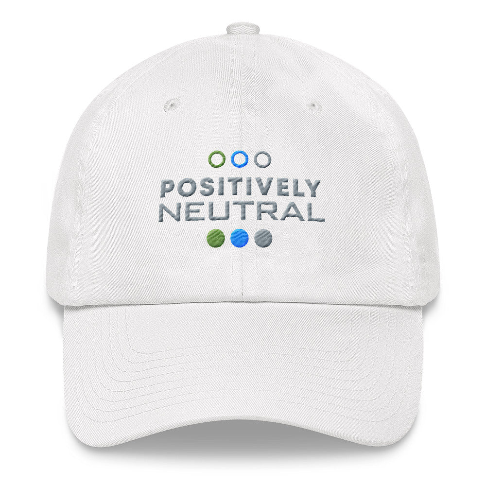Positively Neutral Dad hat - No Conflict Zone