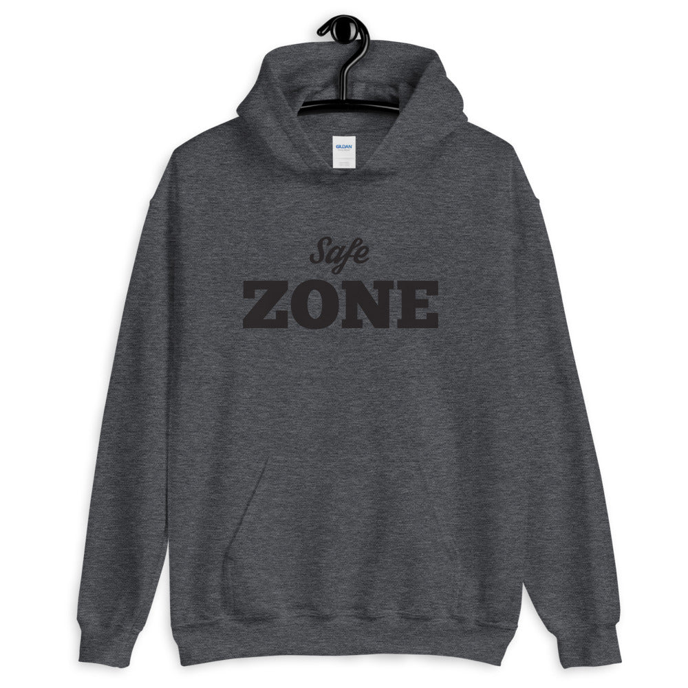 Safe Zone - Hooded Sweatshirt - No Conflict Zone