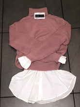 Load image into Gallery viewer, Dusky pink knit jumper