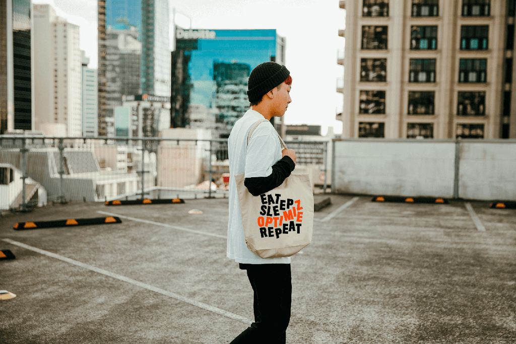 Eat Sleep Optimize Repeat Tote