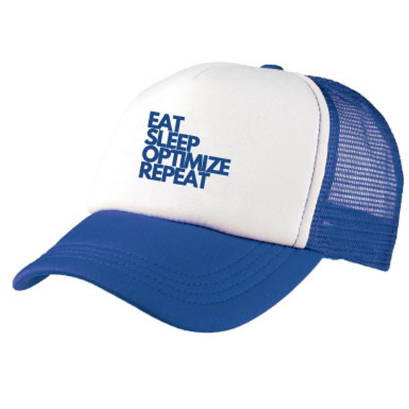 Eat Sleep Optimize Repeat Original Trucker Cap