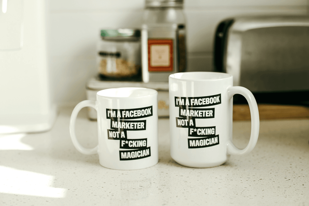 I'm a FB Marketer Not a F*cking Magician Mugs